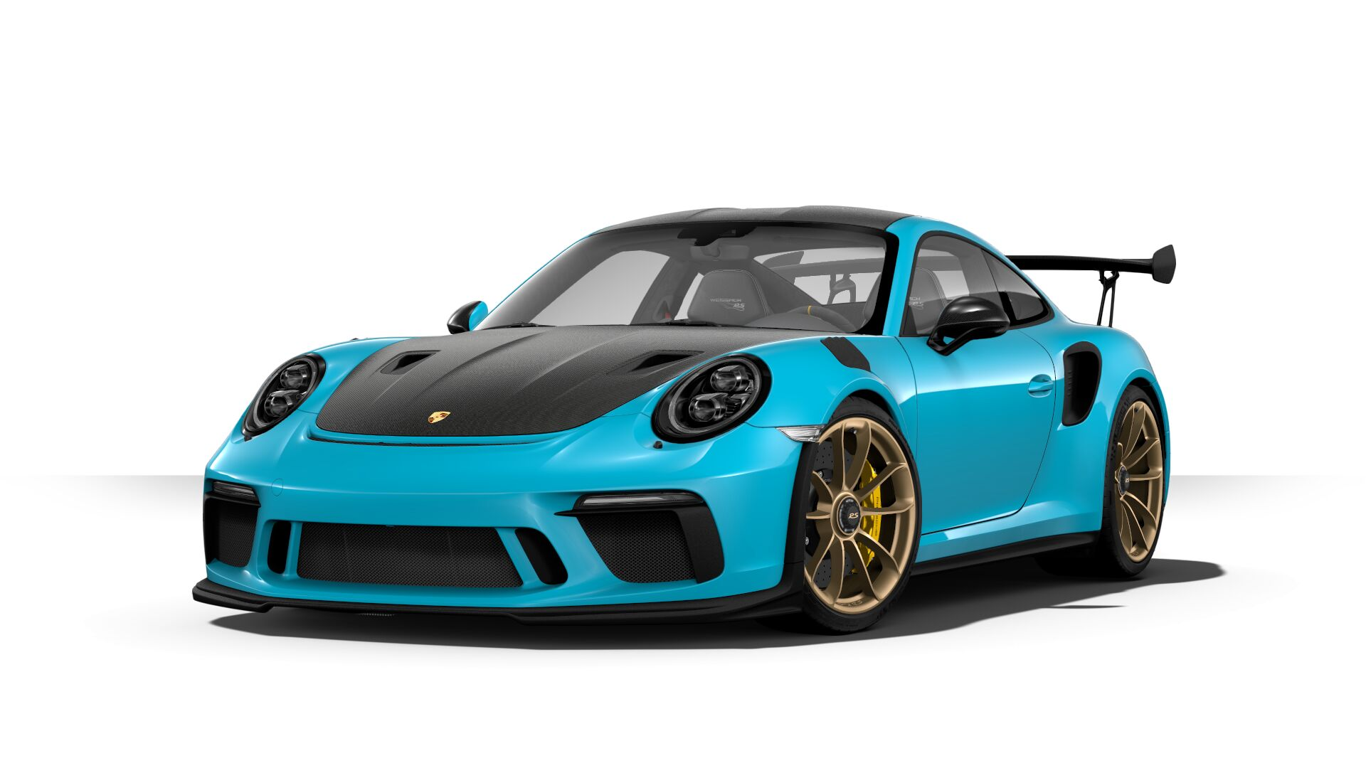 configuring a 991 2 911 gt3 rs including detail status
